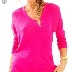 Lilly Pulitzer Pink Stasia Sweater - size S